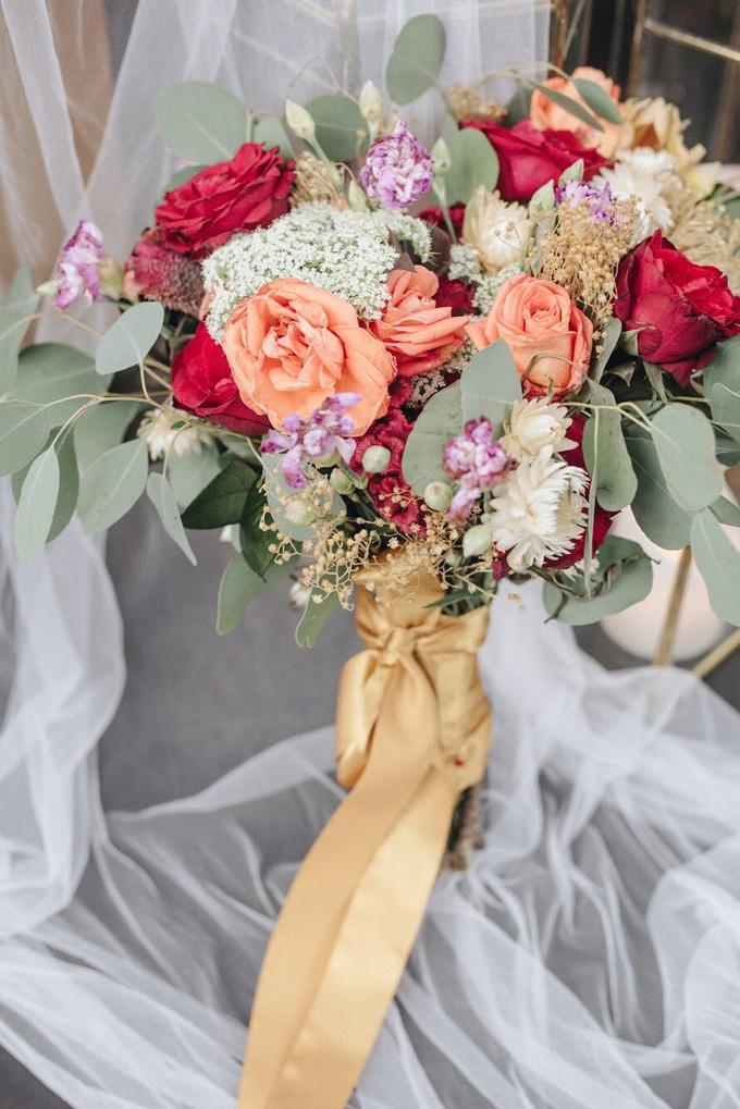 Zamir and Vivi wedding reception by Bali Wonderful Decor - 018