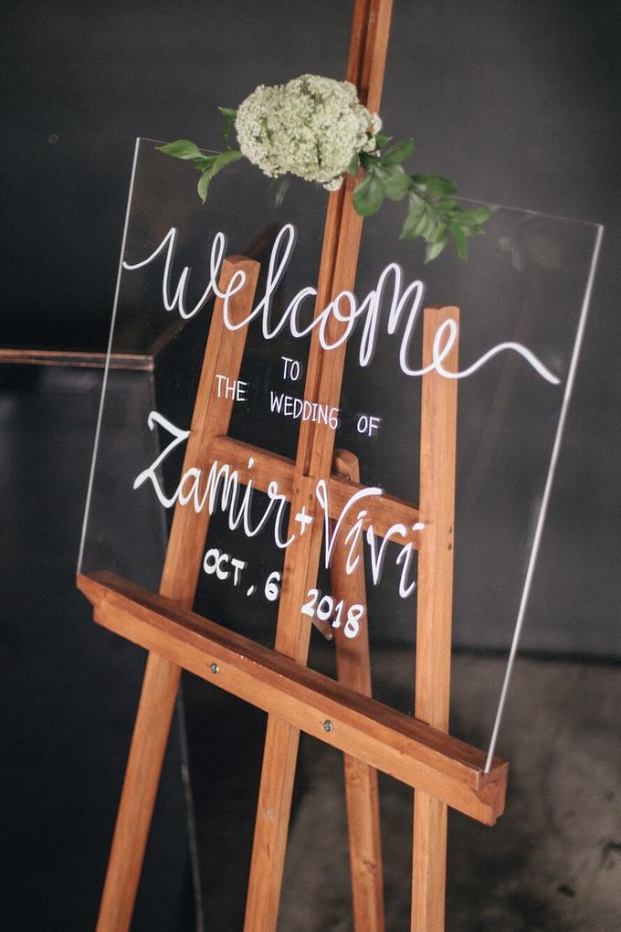 Zamir and Vivi wedding reception by Bali Wonderful Decor - 004