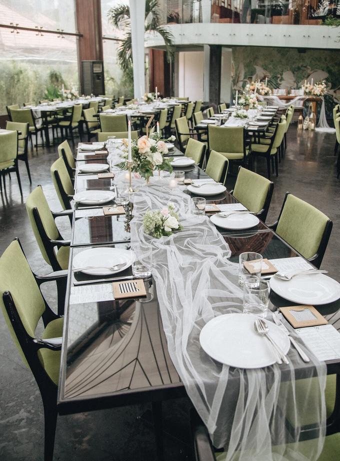 Zamir and Vivi wedding reception by Bali Wonderful Decor - 013