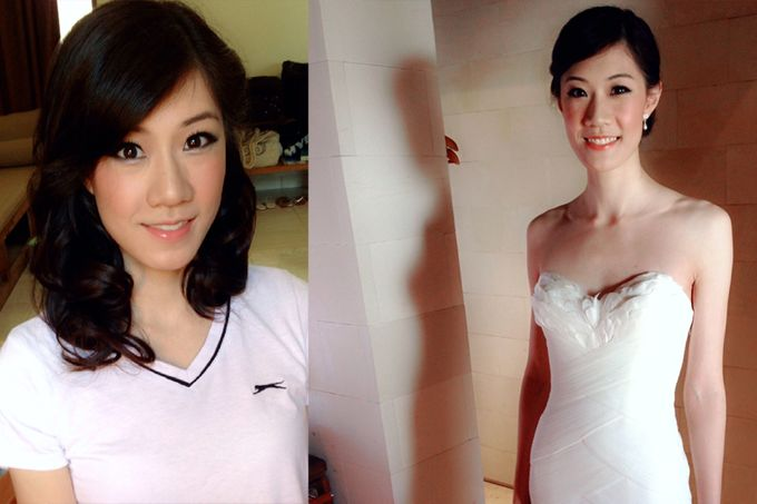 New Client this month by Cindy Lin Make Up Artist - 001