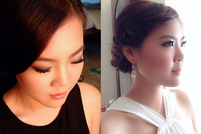 New Client this month by Cindy Lin Make Up Artist - 007