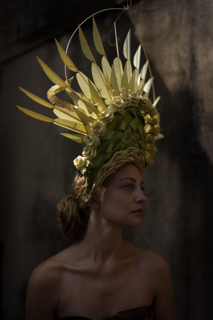 Wedding Headdresses by Make A Scene! Bali - 004