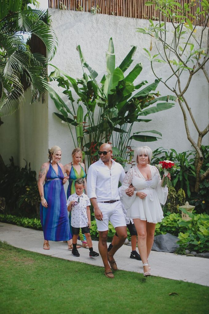 Andrew & Debbie by Astagina Resort Villa & Spa Bali - 013