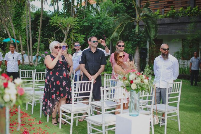 Andrew & Debbie by Astagina Resort Villa & Spa Bali - 014