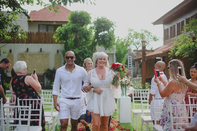 Andrew & Debbie by Astagina Resort Villa & Spa Bali - 016