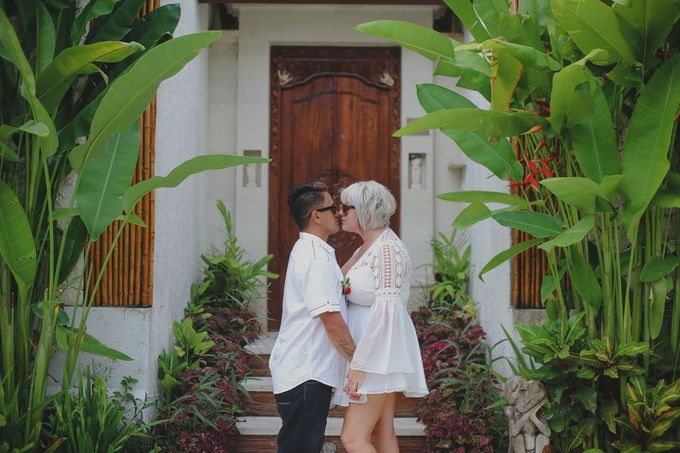 Andrew & Debbie by Astagina Resort Villa & Spa Bali - 029