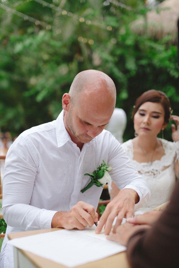 Wedding Indah & David by Bali Red Photography - 017
