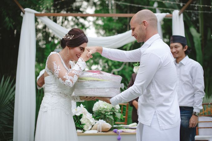 Wedding Indah & David by Bali Red Photography - 020