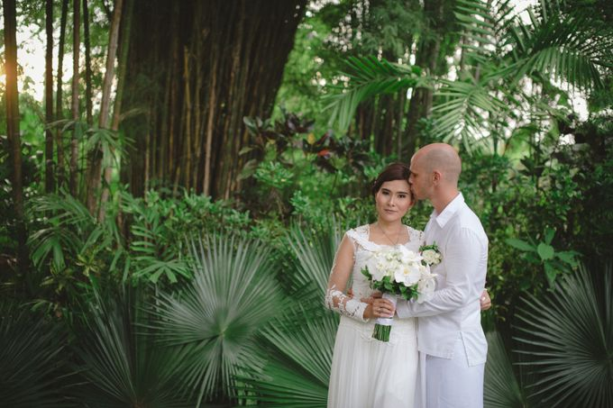 Wedding Indah & David by Bali Red Photography - 023