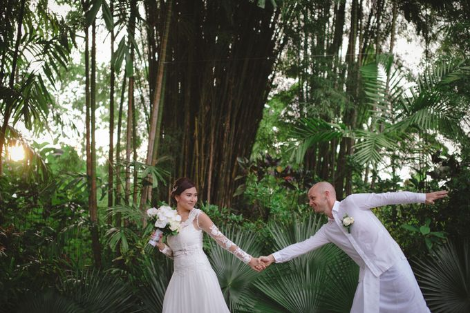 Wedding Indah & David by Bali Red Photography - 024
