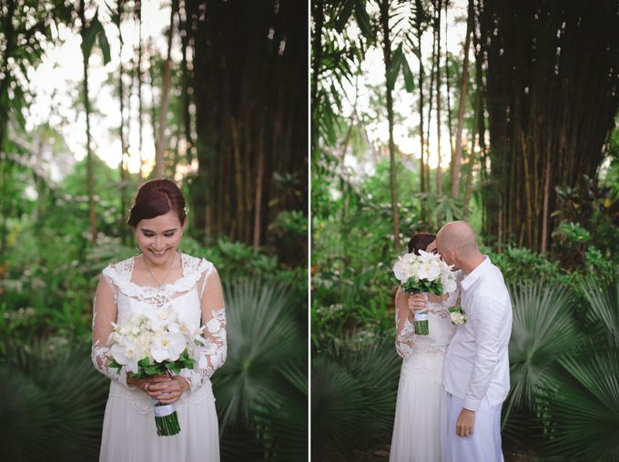 Wedding Indah & David by Bali Red Photography - 025