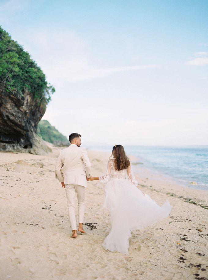 Bali beach wedding inspiration by Veronica Halim Calligraphy - 004