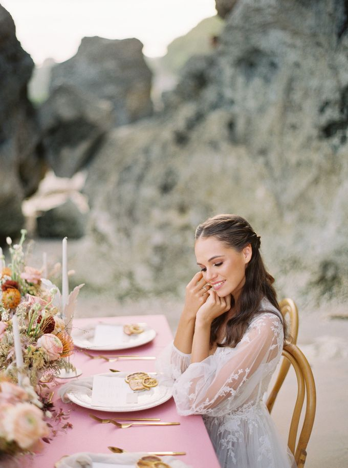 Bali beach wedding inspiration by NOMA Jewelry & Accessories - 019