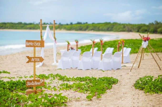 Own Private Island For the Day Wedding Package by Nanuku Auberge Fiji Weddings - 002