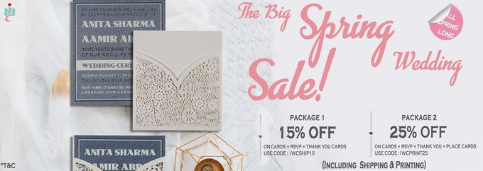 UPTO 25 percent Off on Online Wedding Invitations by IndianWeddingCards - 001