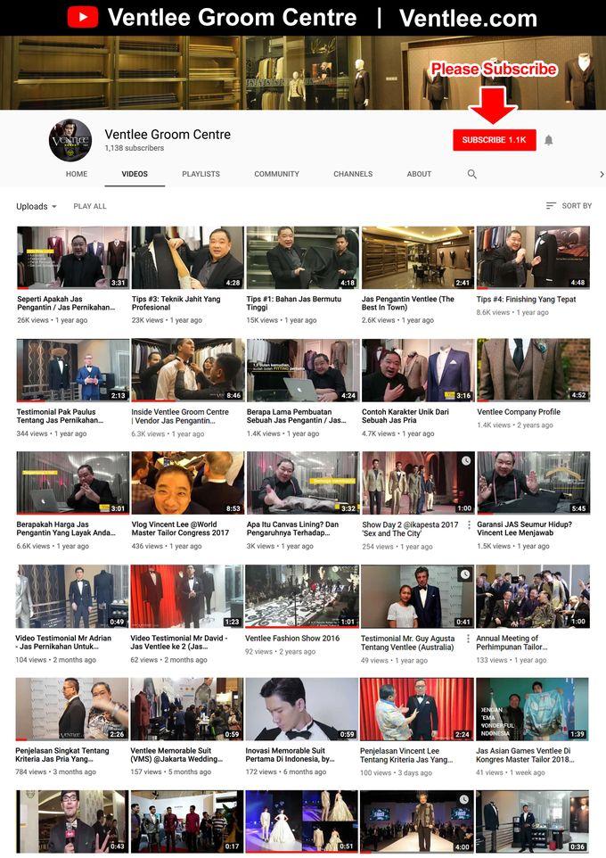 Youtube & Instagram Ventlee by Ventlee Groom Centre - 001