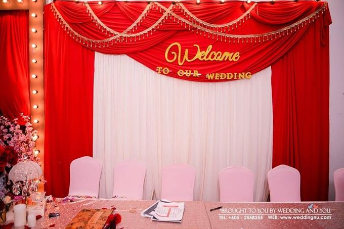 Oriental Wedding Decoration Theme by Wedding And You - 024