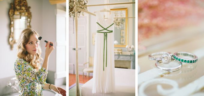 Stunning South of France Chateau Wedding by M&J Photography - 004