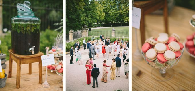 Stunning South of France Chateau Wedding by M&J Photography - 009