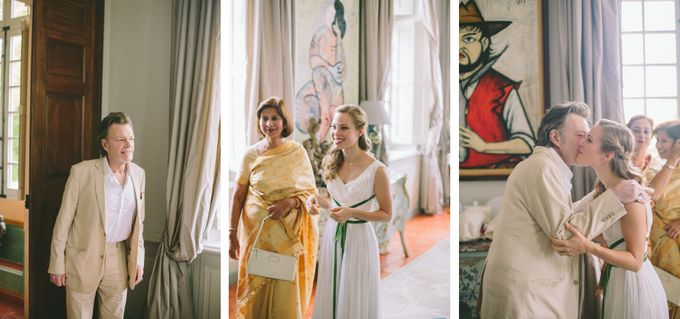 Stunning South of France Chateau Wedding by M&J Photography - 011