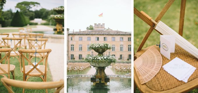 Stunning South of France Chateau Wedding by M&J Photography - 012