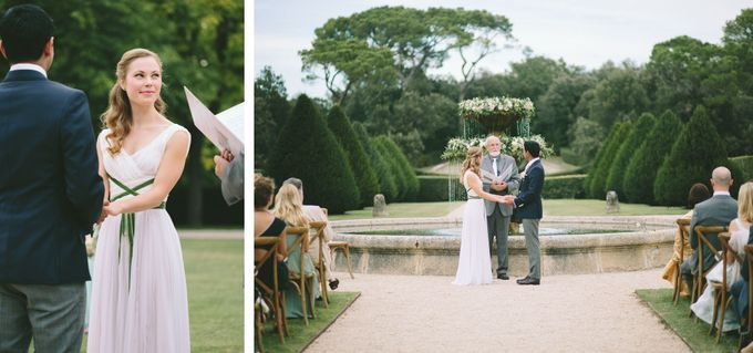 Stunning South of France Chateau Wedding by M&J Photography - 015