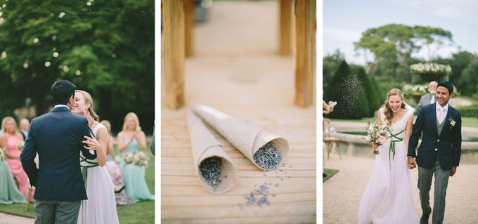 Stunning South of France Chateau Wedding by M&J Photography - 017