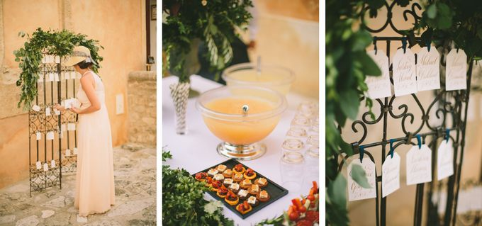 Stunning South of France Chateau Wedding by M&J Photography - 018