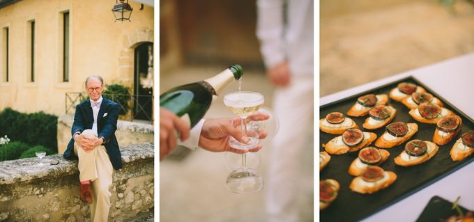 Stunning South of France Chateau Wedding by M&J Photography - 019