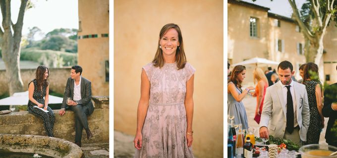 Stunning South of France Chateau Wedding by M&J Photography - 020