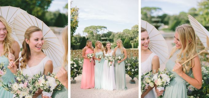 Stunning South of France Chateau Wedding by M&J Photography - 021