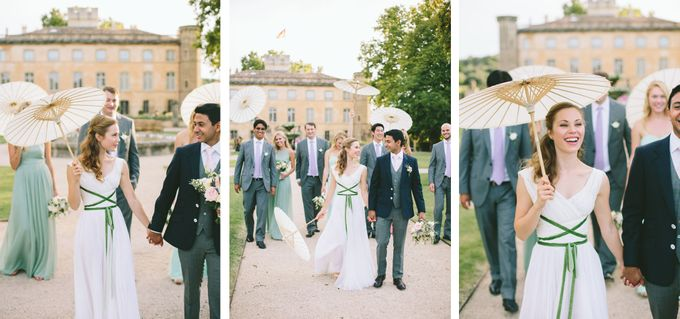 Stunning South of France Chateau Wedding by M&J Photography - 022