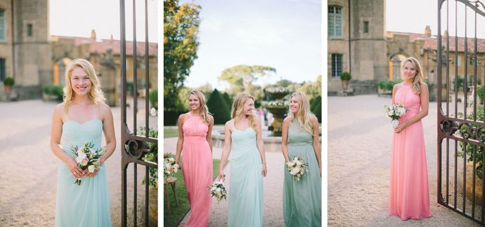 Stunning South of France Chateau Wedding by M&J Photography - 023