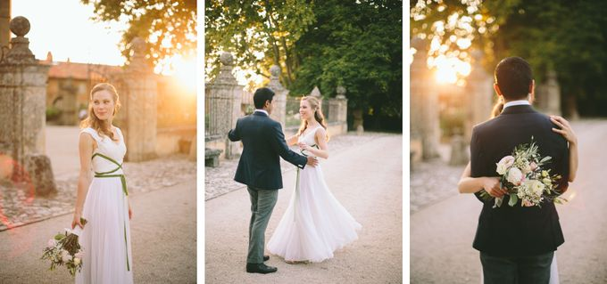 Stunning South of France Chateau Wedding by M&J Photography - 025