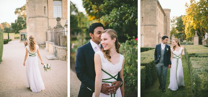 Stunning South of France Chateau Wedding by M&J Photography - 026