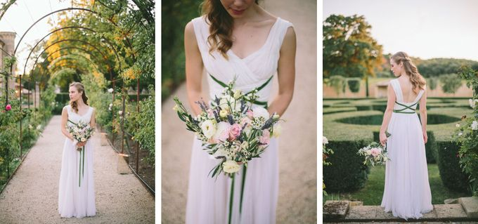 Stunning South of France Chateau Wedding by M&J Photography - 027