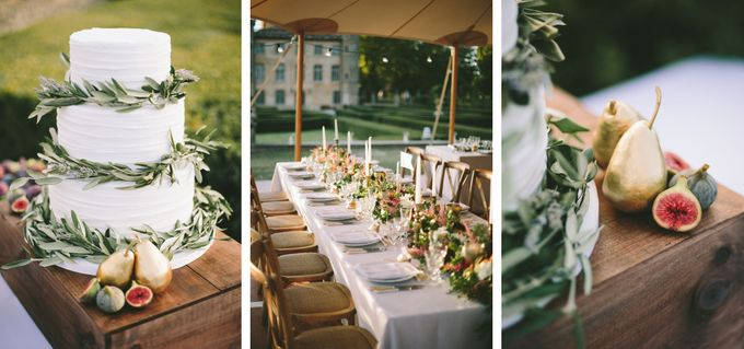 Stunning South of France Chateau Wedding by M&J Photography - 028
