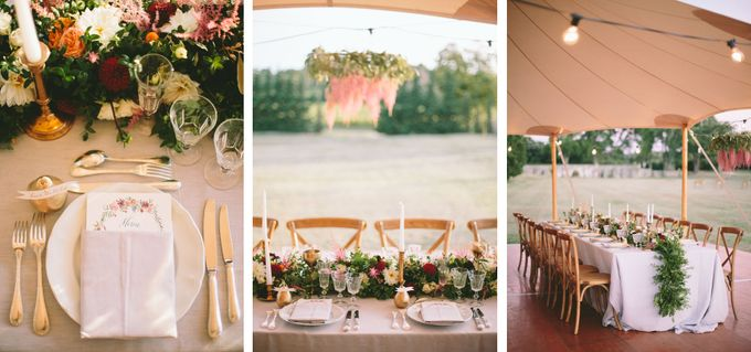 Stunning South of France Chateau Wedding by M&J Photography - 029