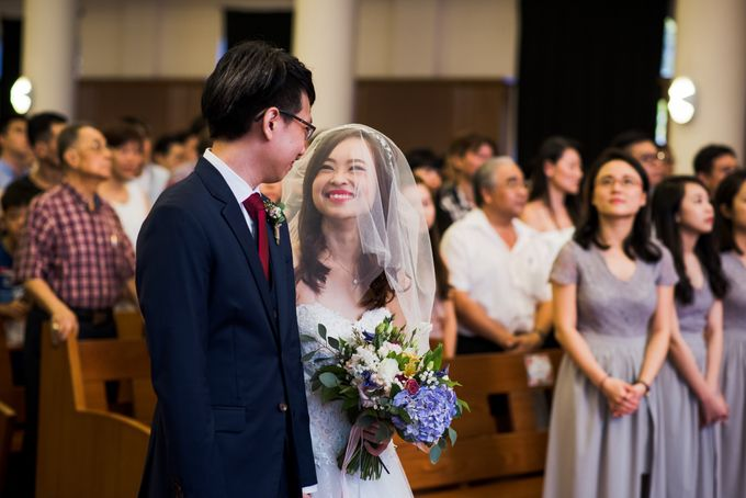 Church Wedding Queenstown Singapore by oolphoto - 030