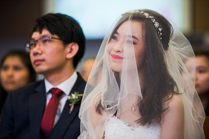 Church Wedding Queenstown Singapore by oolphoto - 032