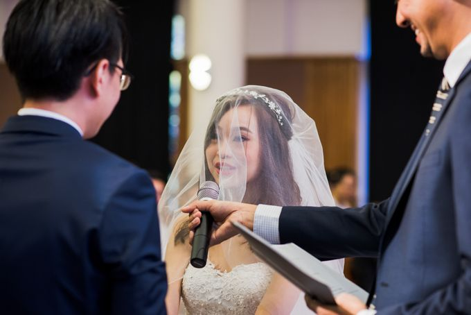 Church Wedding Queenstown Singapore by oolphoto - 037