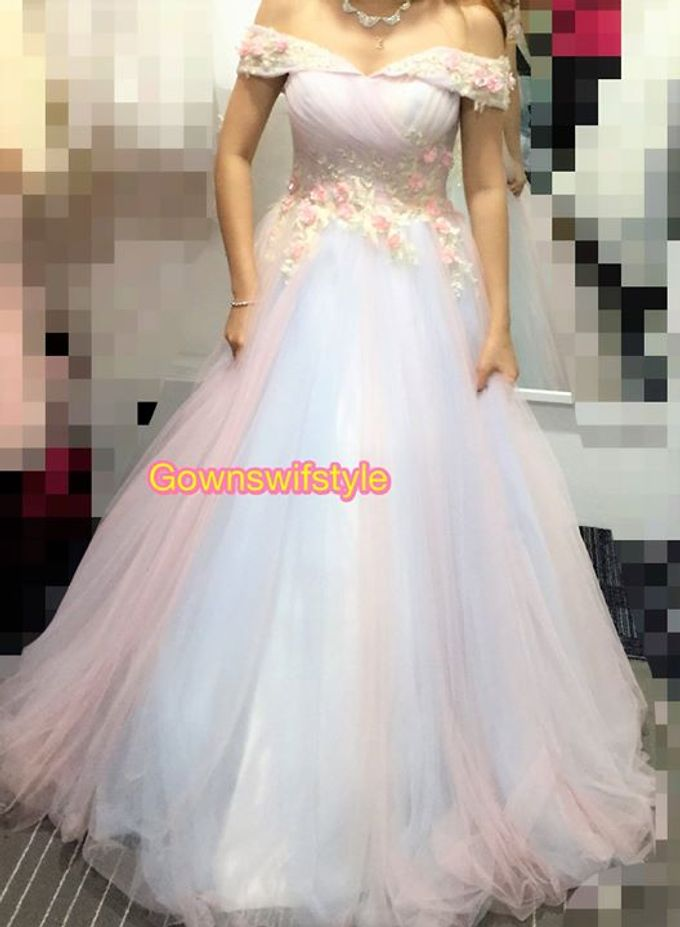 Beautiful Bridal Gowns by Makeupwifstyle - 020
