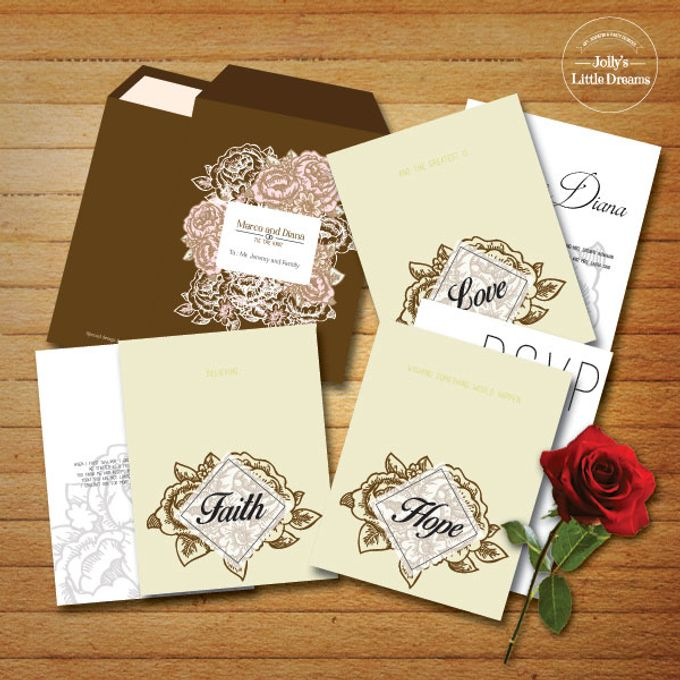 WEDDING INVITATION by Jolly's Little Dreams - 005