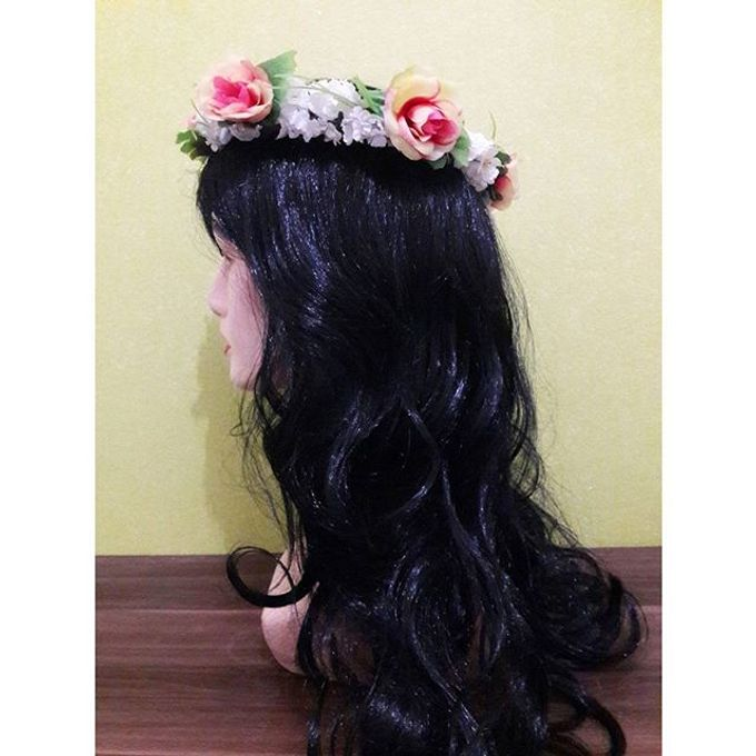 Flower Crown / Bando Bunga / Mahkota Bunga by Estrella Flower Crown - 029