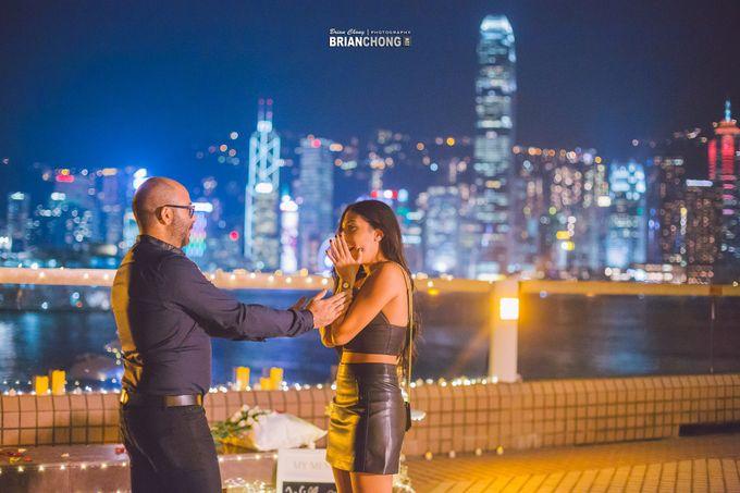 Marriage Proposal in Hong Kong by Brian Chong Photography - 004