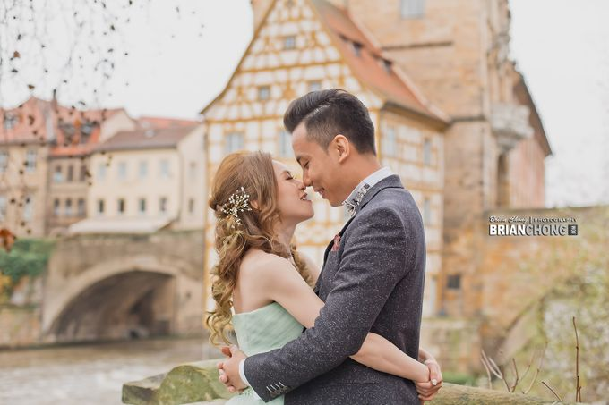 Germany Pre-Wedding Photography by Brian Chong Photography - 001