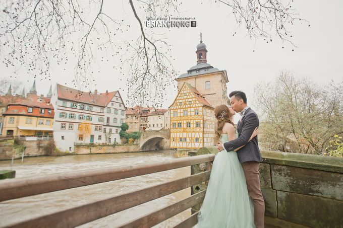 Germany Pre-Wedding Photography by Brian Chong Photography - 002