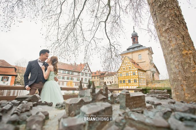 Germany Pre-Wedding Photography by Brian Chong Photography - 003
