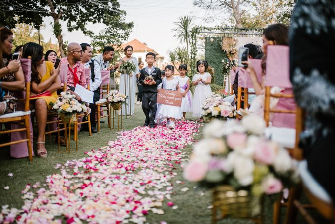 The Wedding of David & Clodia by Miracle Wedding Bali - 023