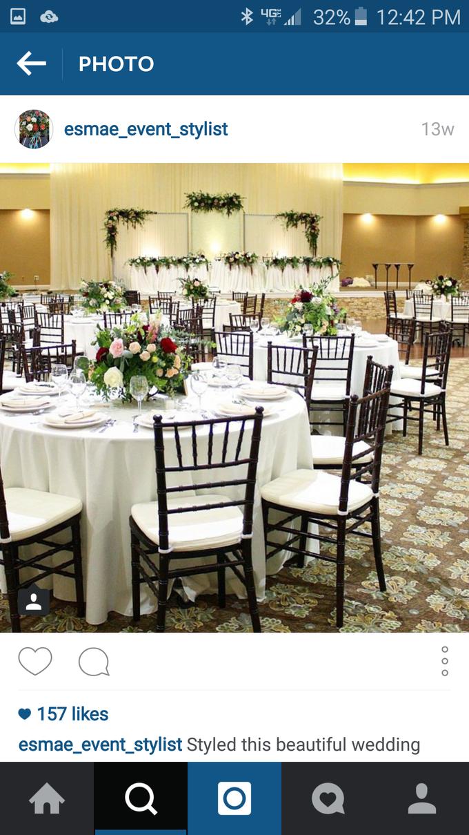 Romantic Wedding by Esmae Event Floral Design - 003